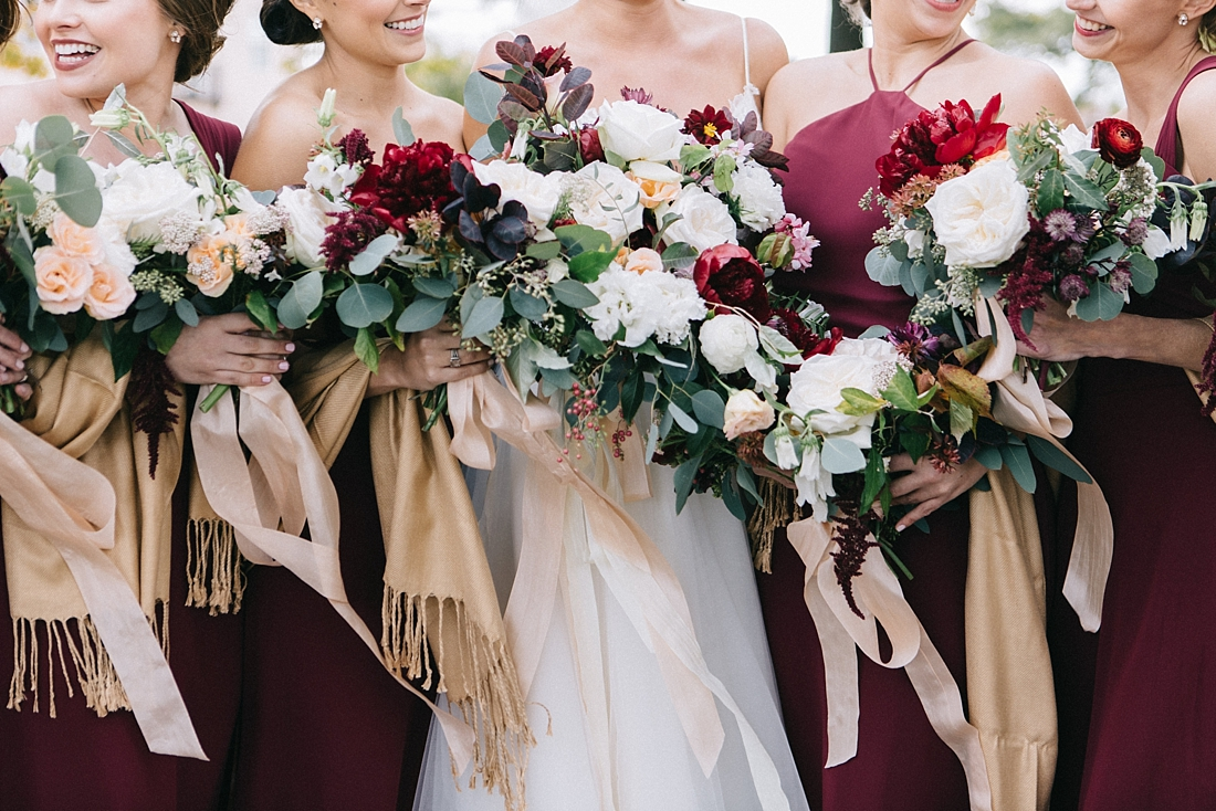 Marryland Weddings Modern Fall American Visionary Arts Museum Burgundy Gold Sarah Murray Photography_0858.jpg
