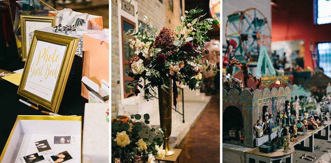 Marryland Weddings Modern Fall American Visionary Arts Museum Burgundy Gold Sarah Murray Photography_0868.jpg