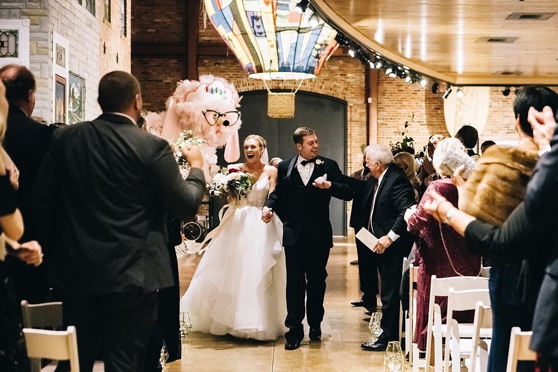 Marryland Weddings Modern Fall American Visionary Arts Museum Burgundy Gold Sarah Murray Photography_0866.jpg