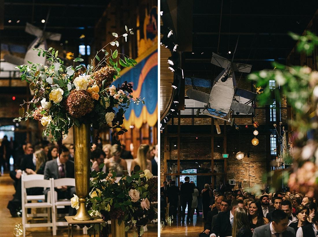 Marryland Weddings Modern Fall American Visionary Arts Museum Burgundy Gold Sarah Murray Photography_0870.jpg