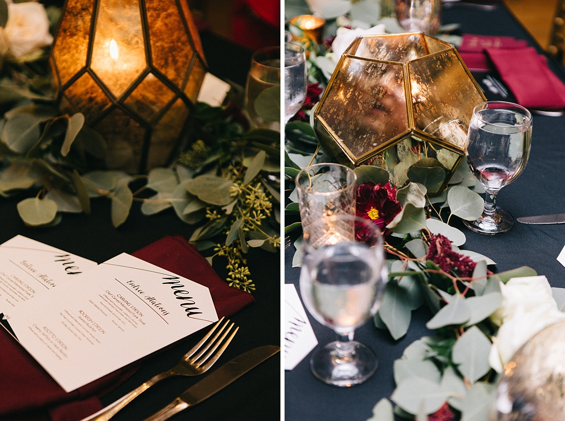 Marryland Weddings Modern Fall American Visionary Arts Museum Burgundy Gold Sarah Murray Photography_0872.jpg