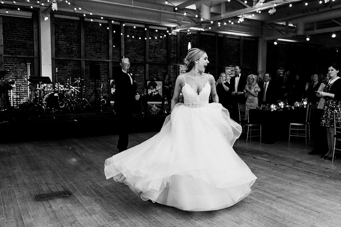 Marryland Weddings Modern Fall American Visionary Arts Museum Burgundy Gold Sarah Murray Photography_0875.jpg