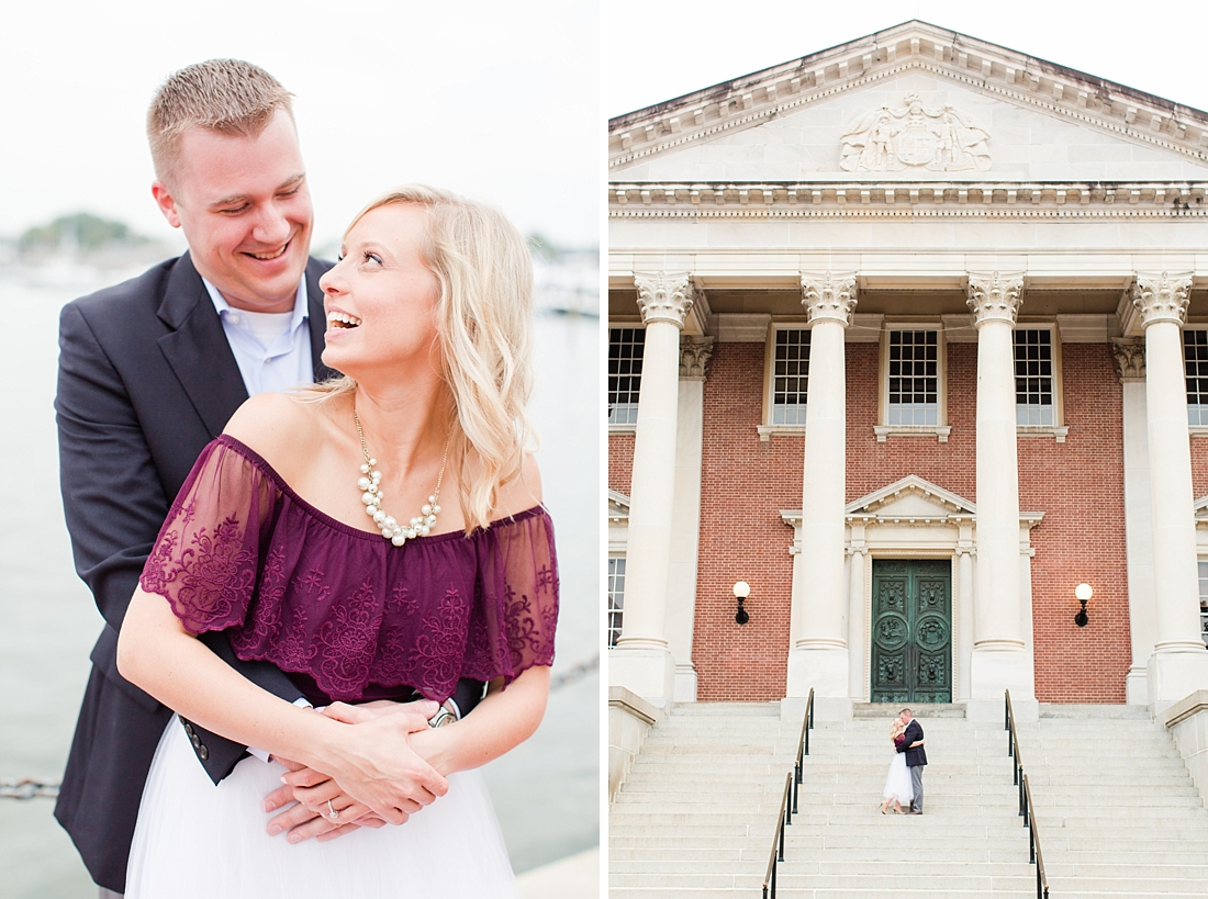 Historic Downtown Annapolis Engagement Session Bethanne Arthur Photography_0061.jpg