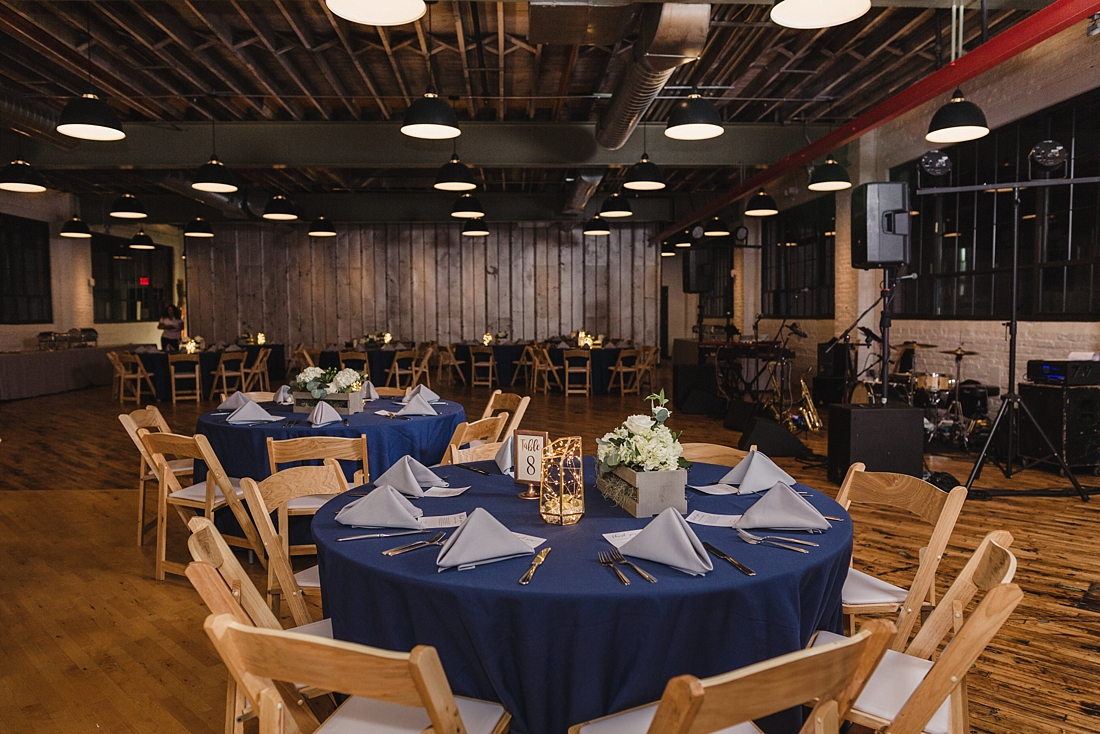 Accelerator Space Baltimore MD Wedding Navy Gray Urban Row Photography_0136.jpg