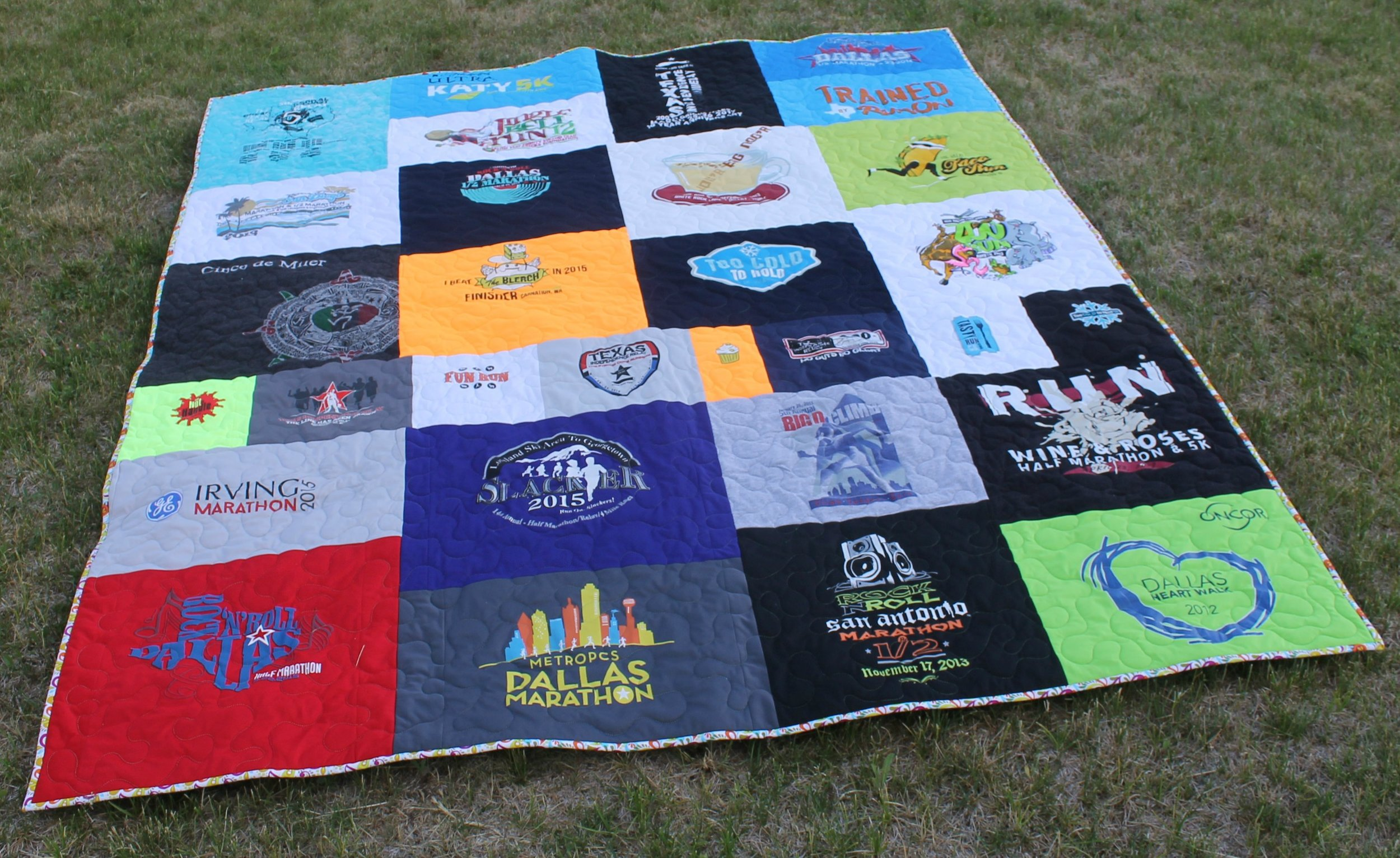 Texas Running Quilt by Katie Mae Quilts