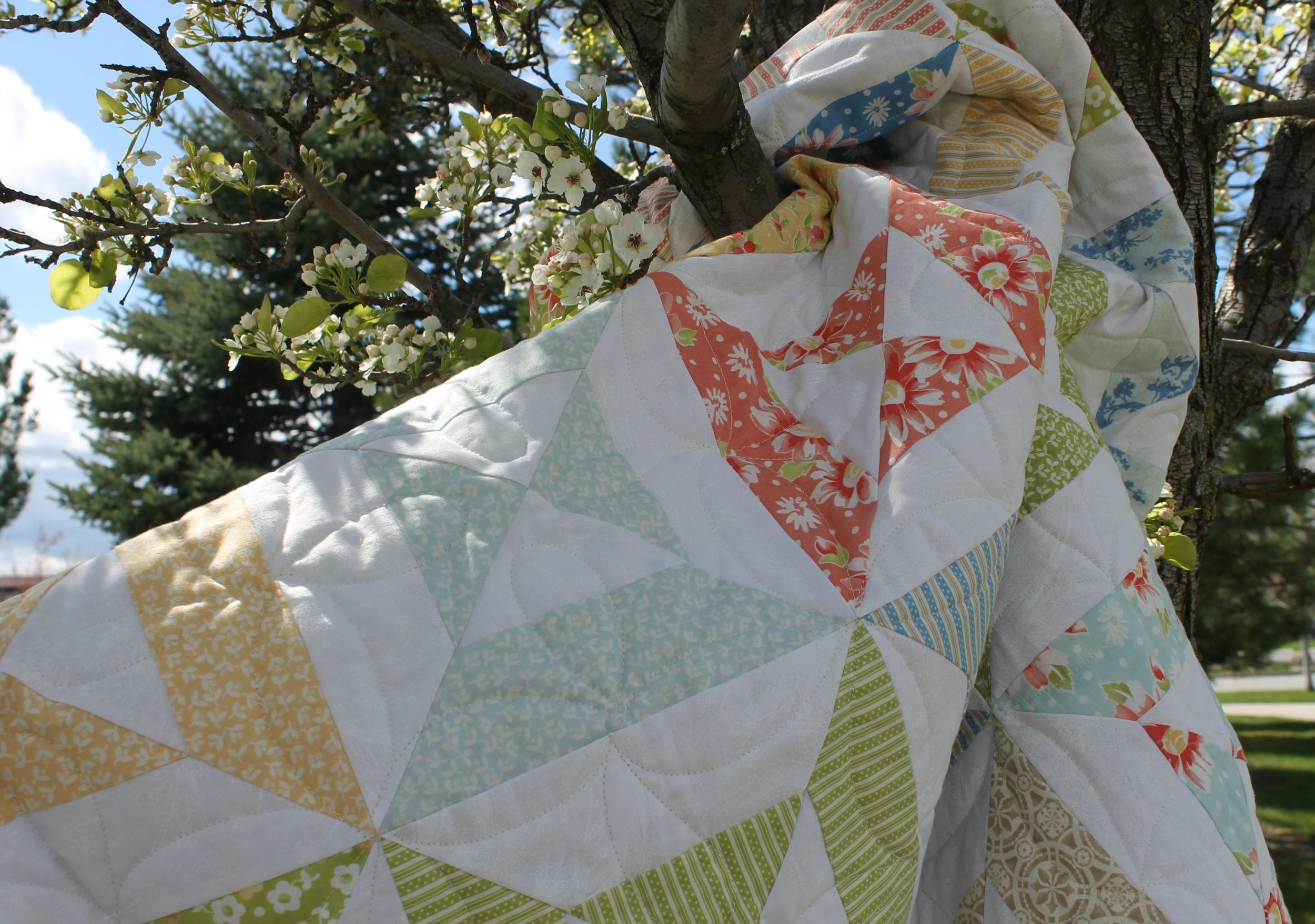California Girl Hourglass - Katie Mae Quilts