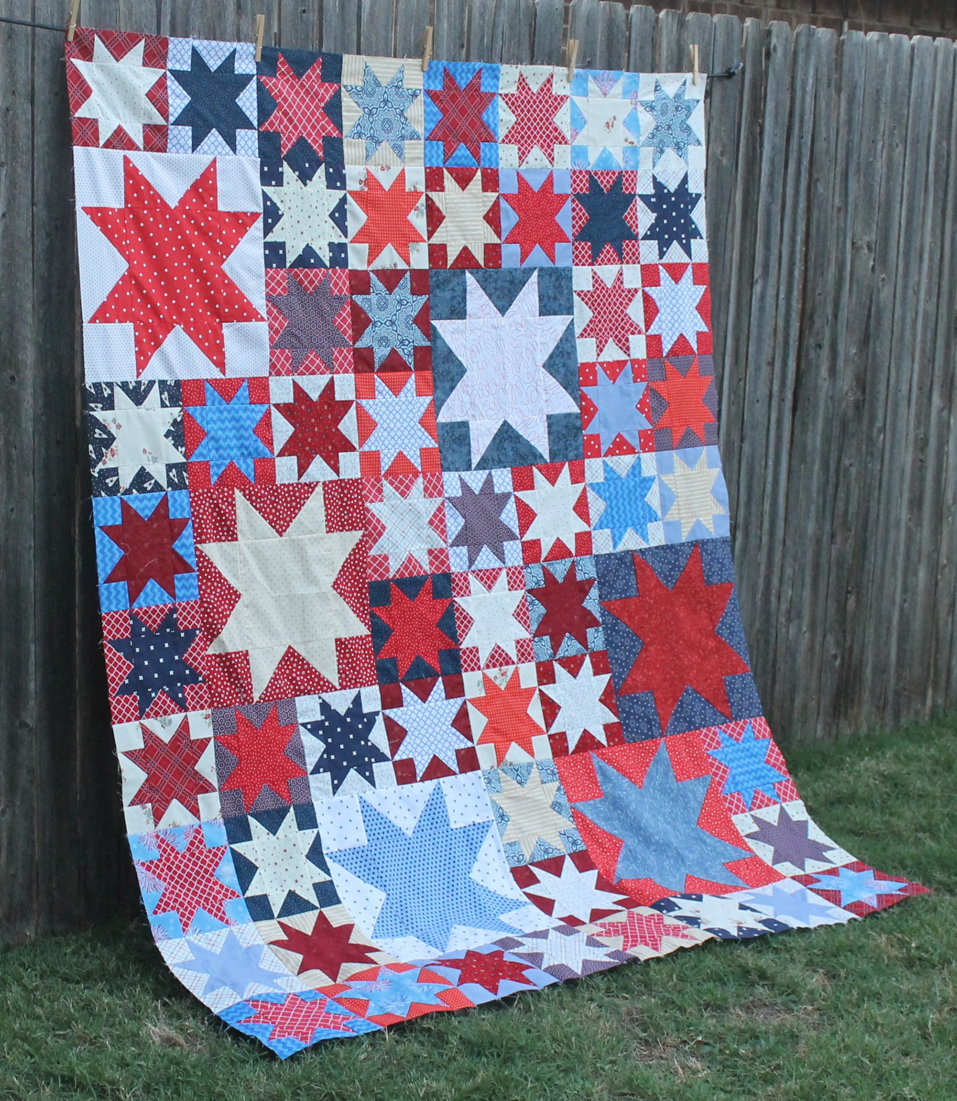 Quilts of Valor Stars