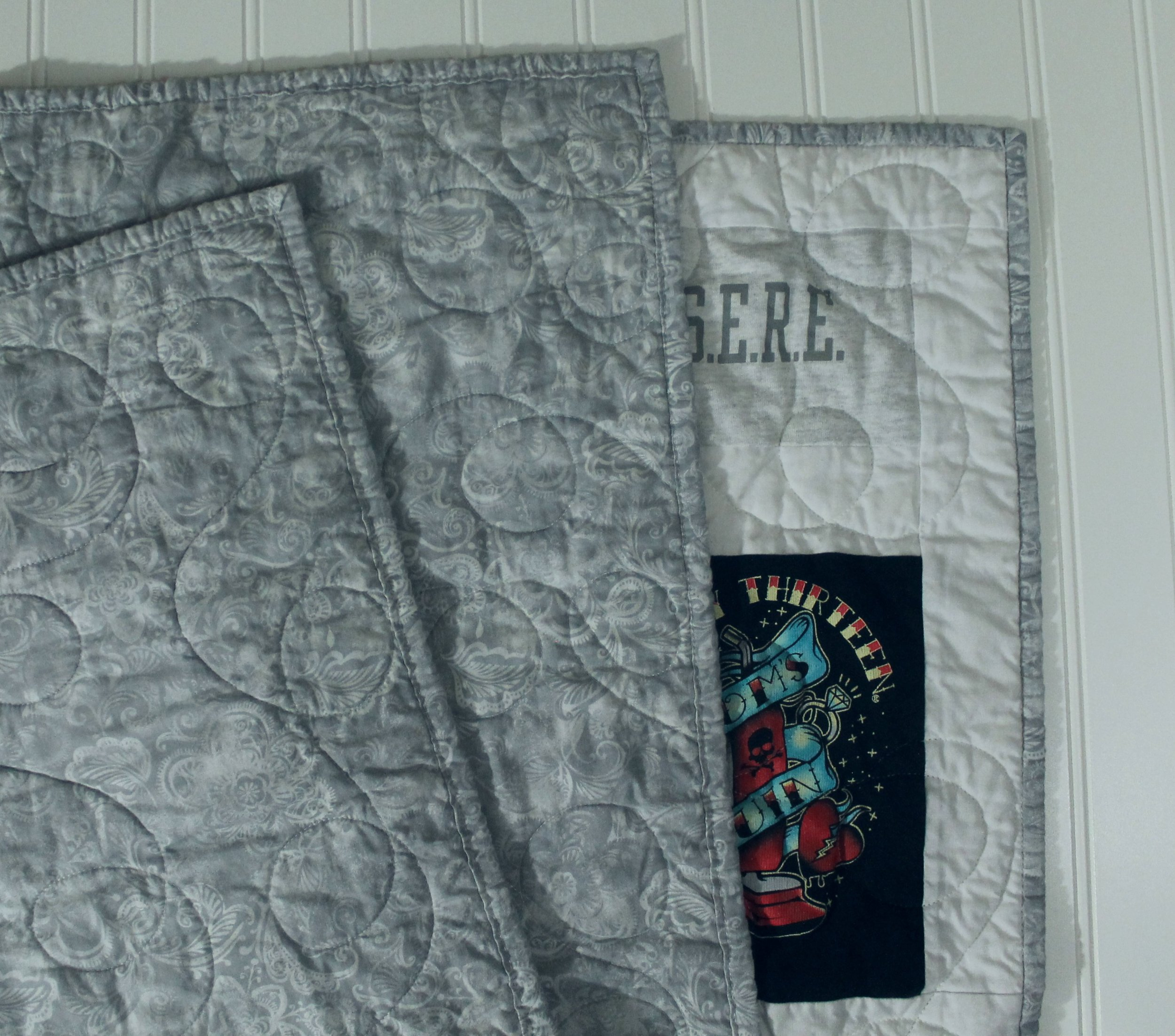 T-Shirt Quilt by Katie Mae Quilts