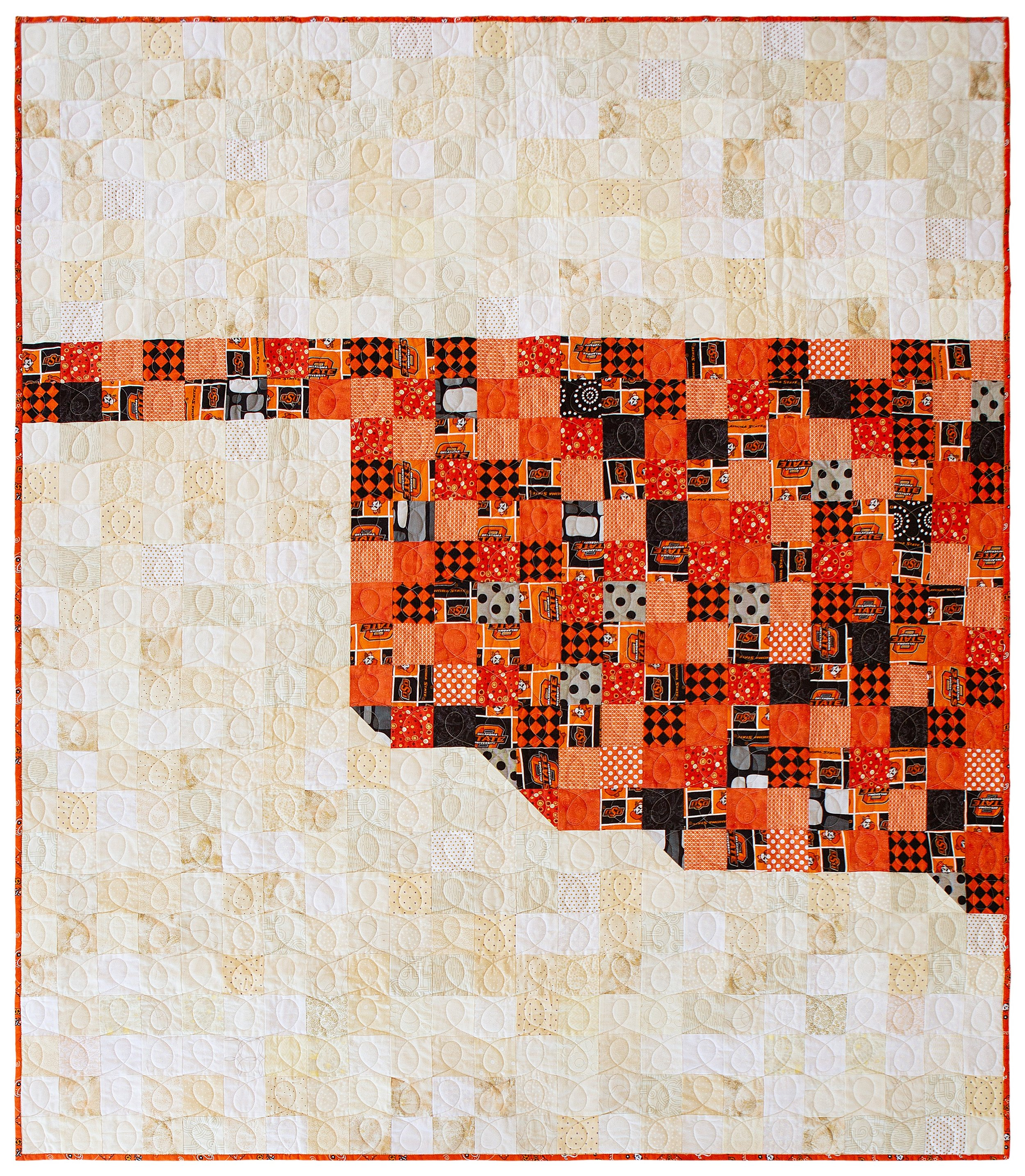 Oklahoma - by Katie Mae Quilts