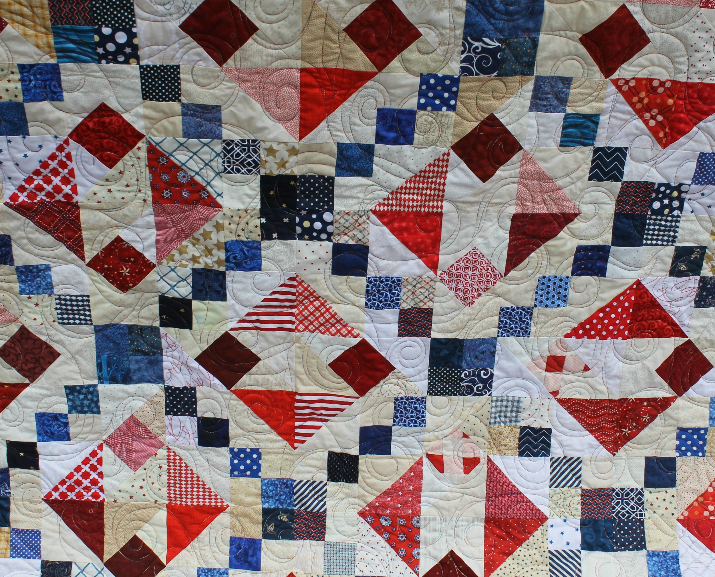 Chain of Fours by Katie Mae Quilts