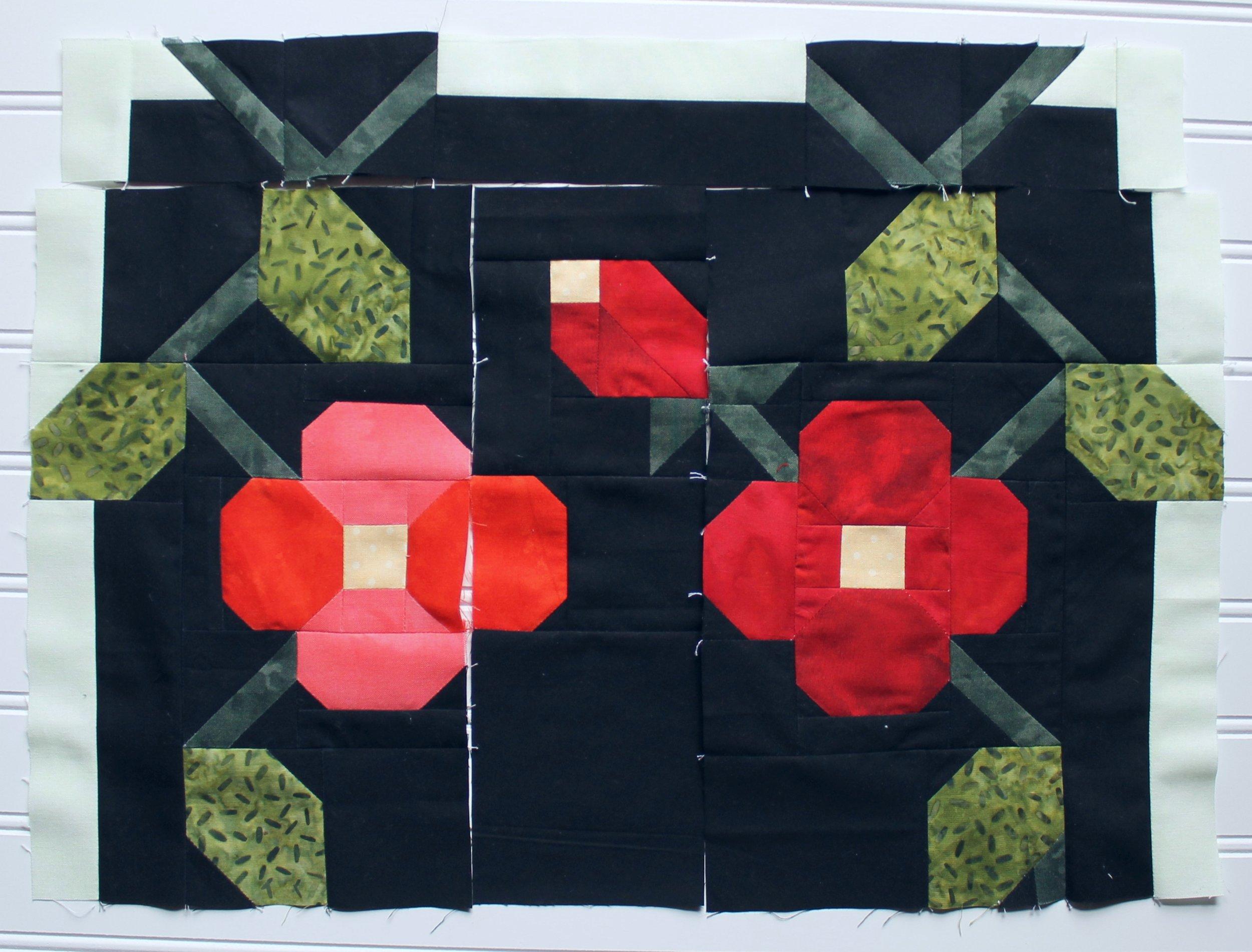 Patriotism's Eternal Bloom by Katie Mae Quilts