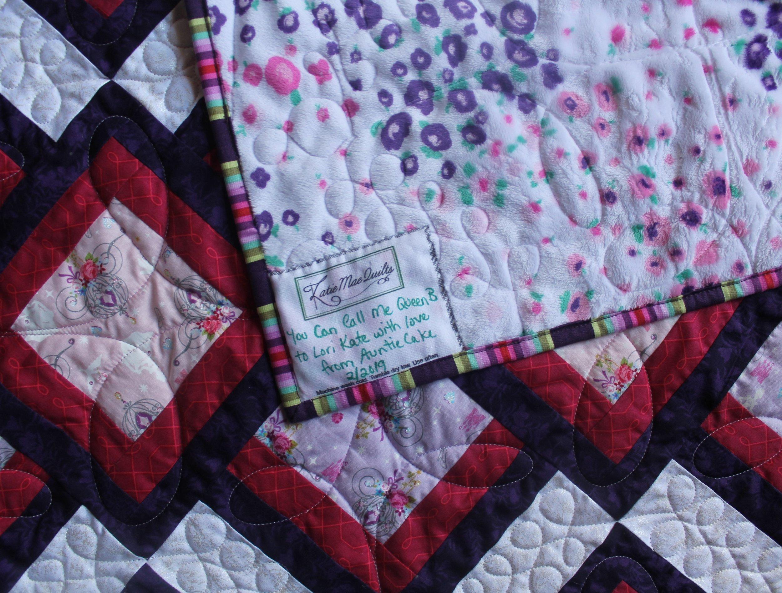 Cinderella Quilt by Katie Mae Quilts