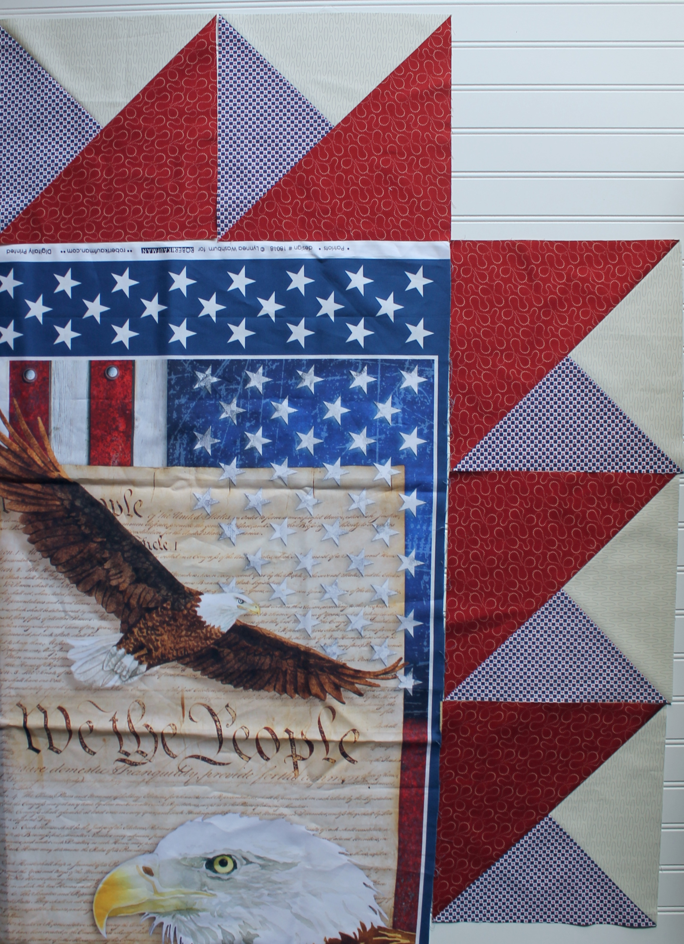 Quilts of Valor Panel by Katie Mae Quilts