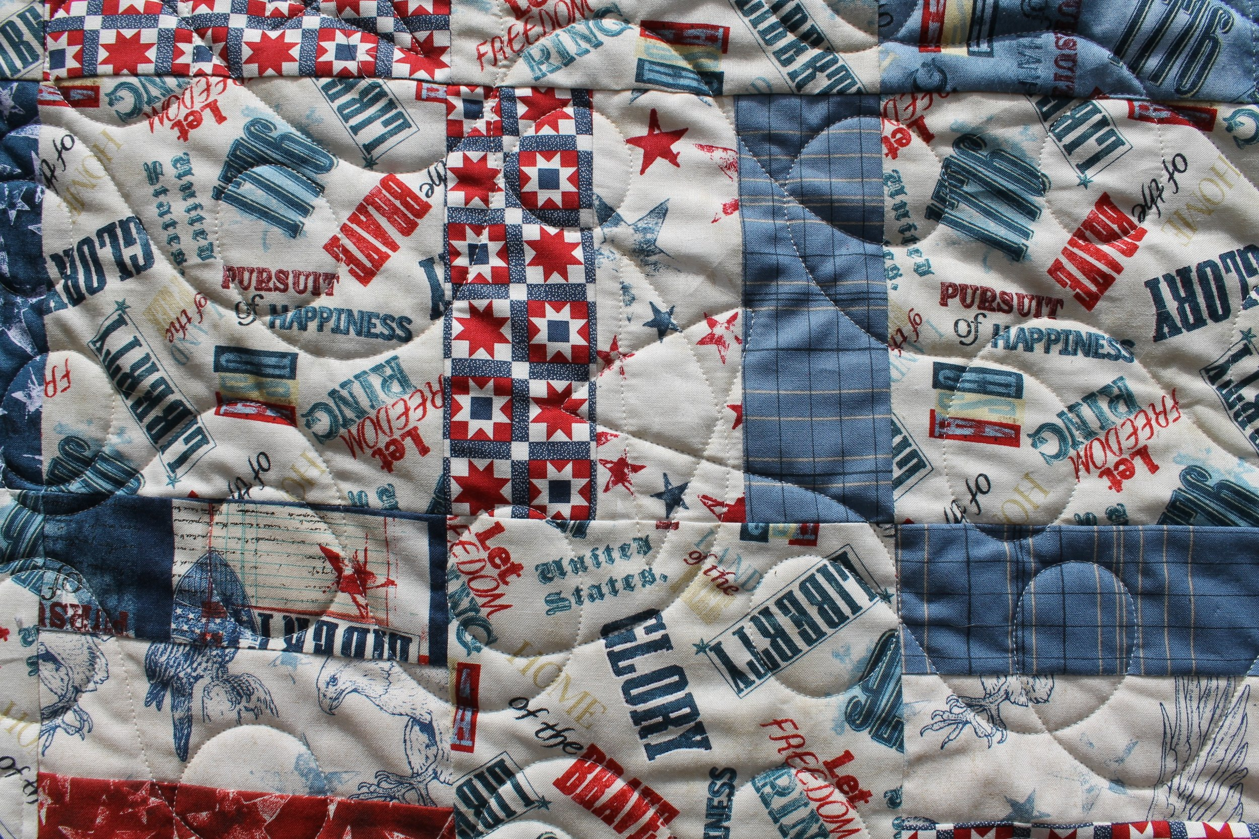 Rail Squares for Quilts of Valor by Katie Mae Quilts