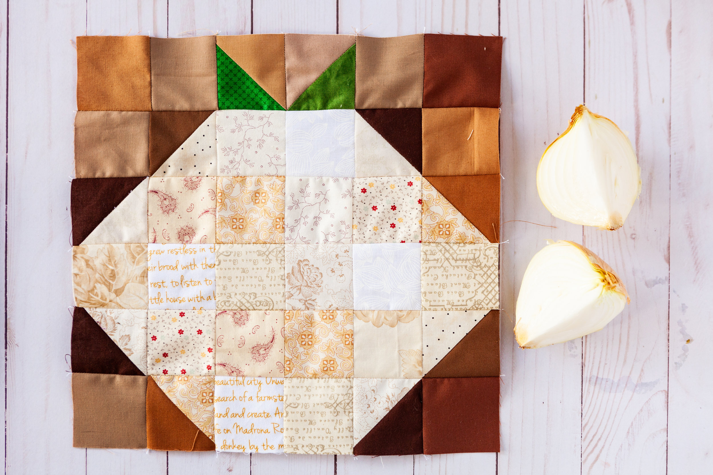 onion - a veggie patch block by Katie Mae Quilts.jpg