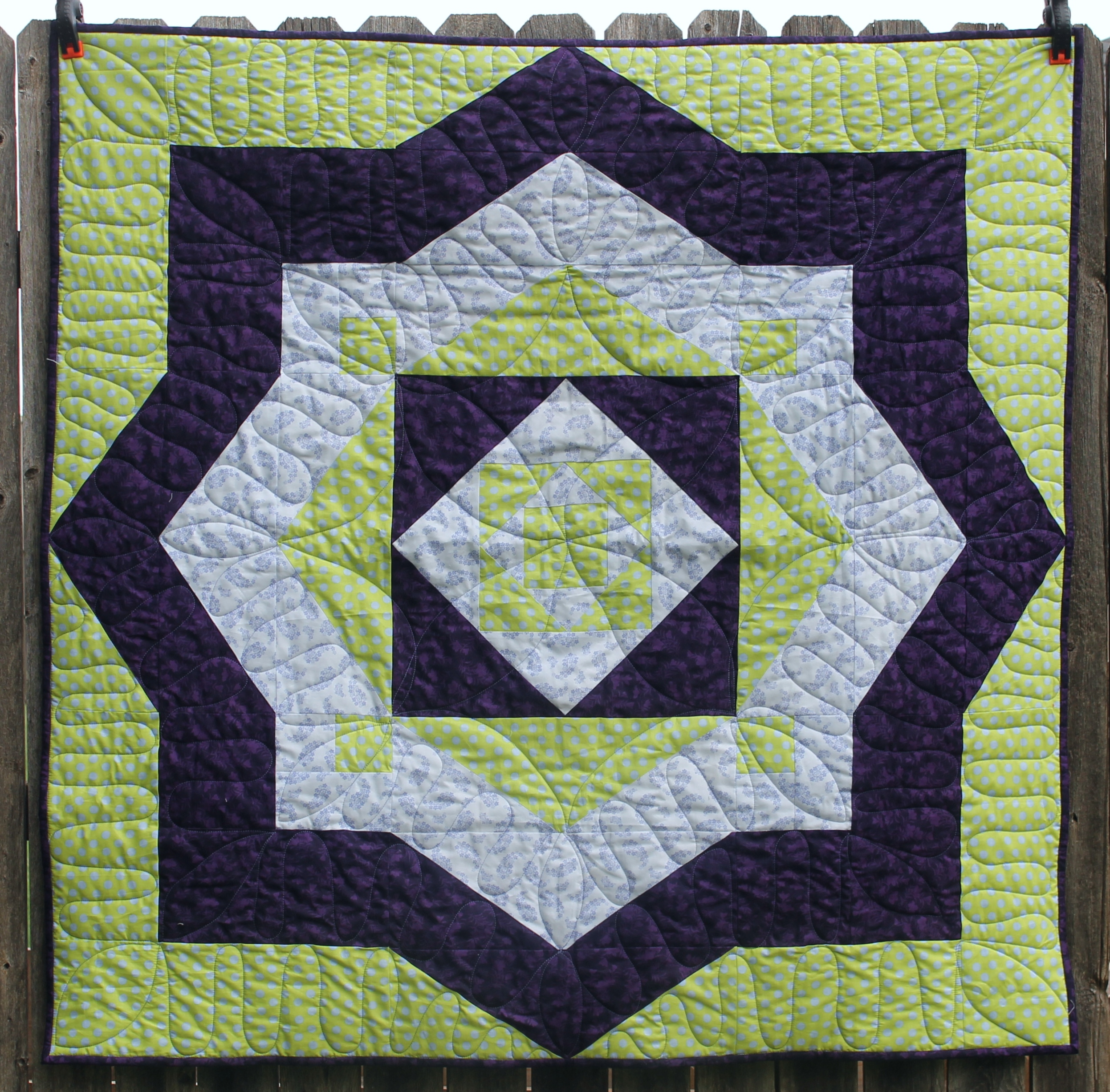 The Green Project by Katie Mae Quilts