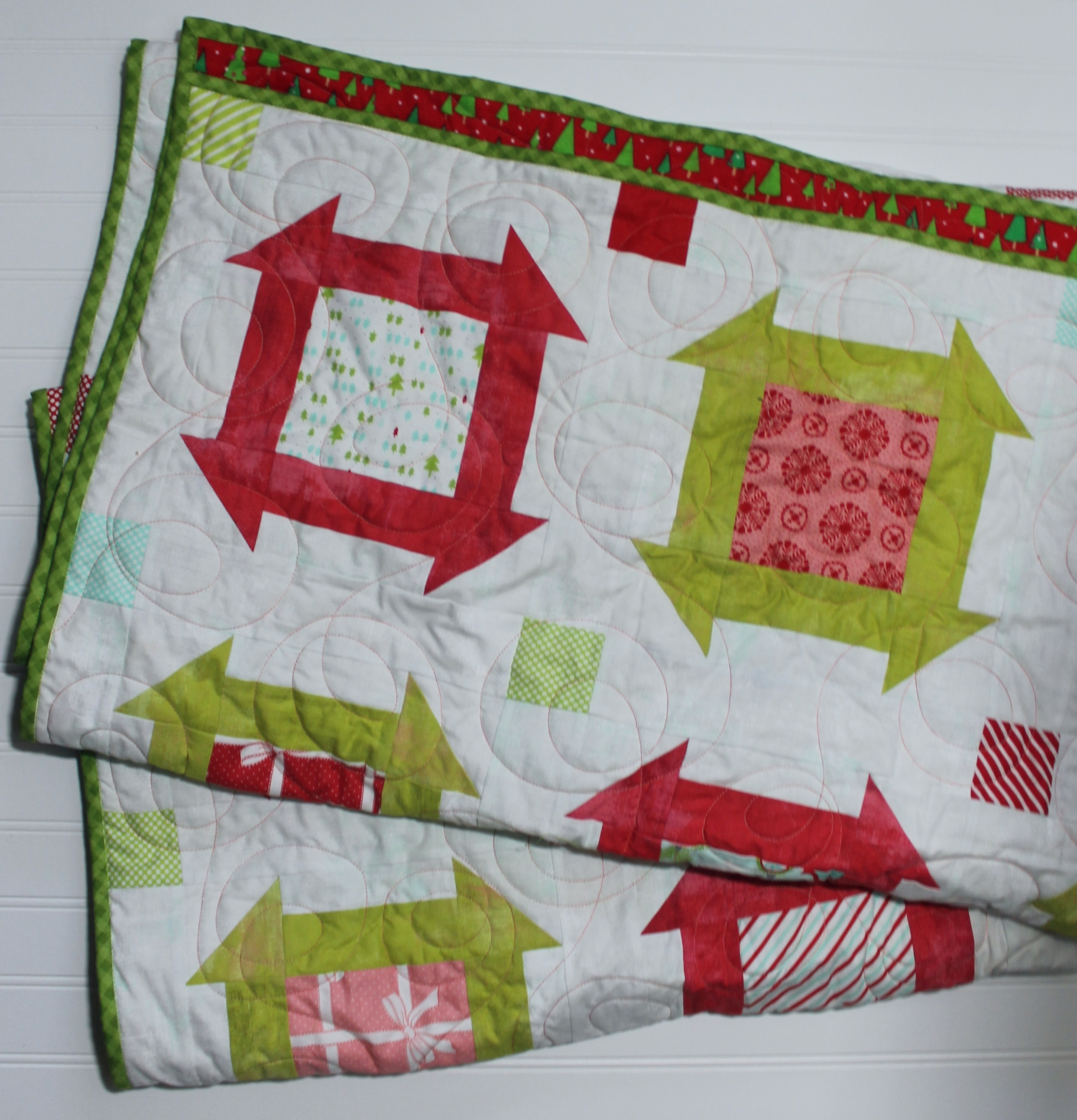 Christmas Charm Dash by Katie Mae Quilts
