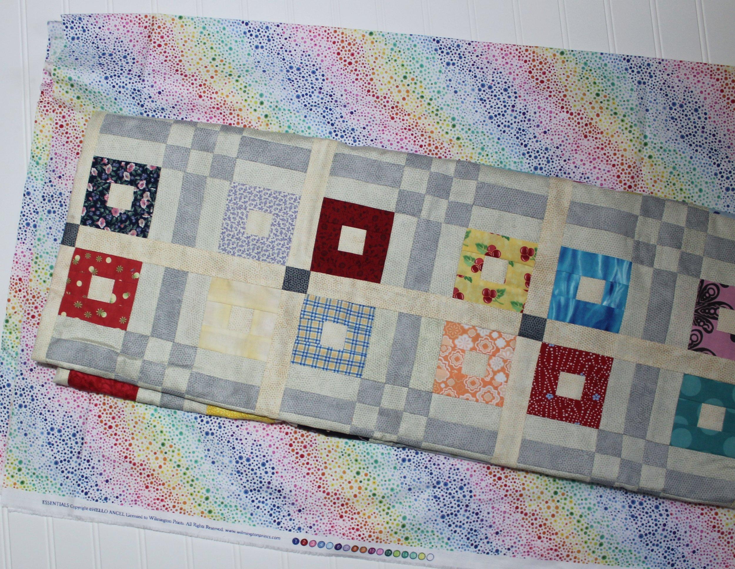 Rainbow Scrap Challenge by Katie Mae Quilts