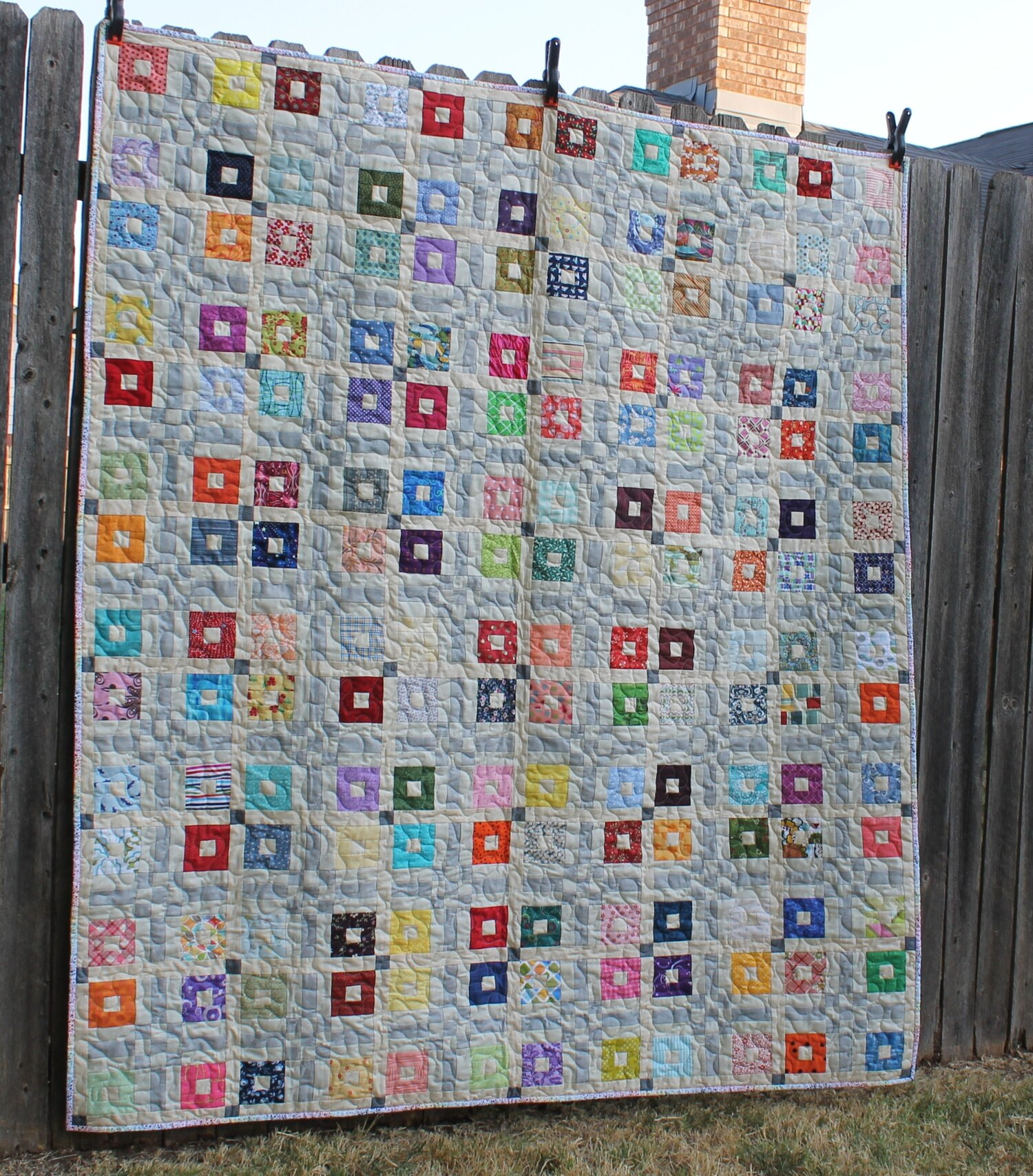 Main Street Rainbow by Katie Mae Quilts