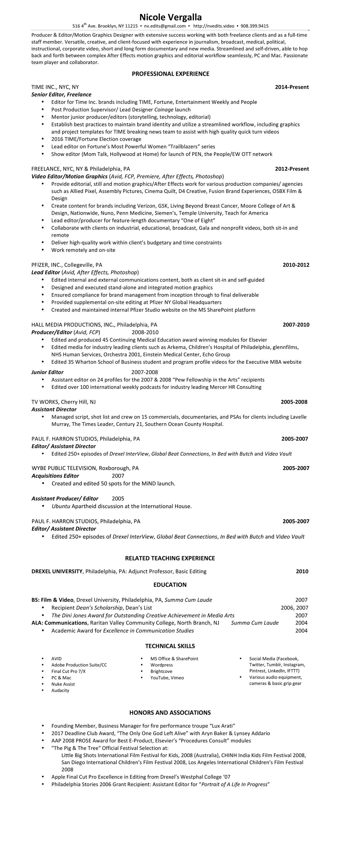 NVergalla Resume 2017