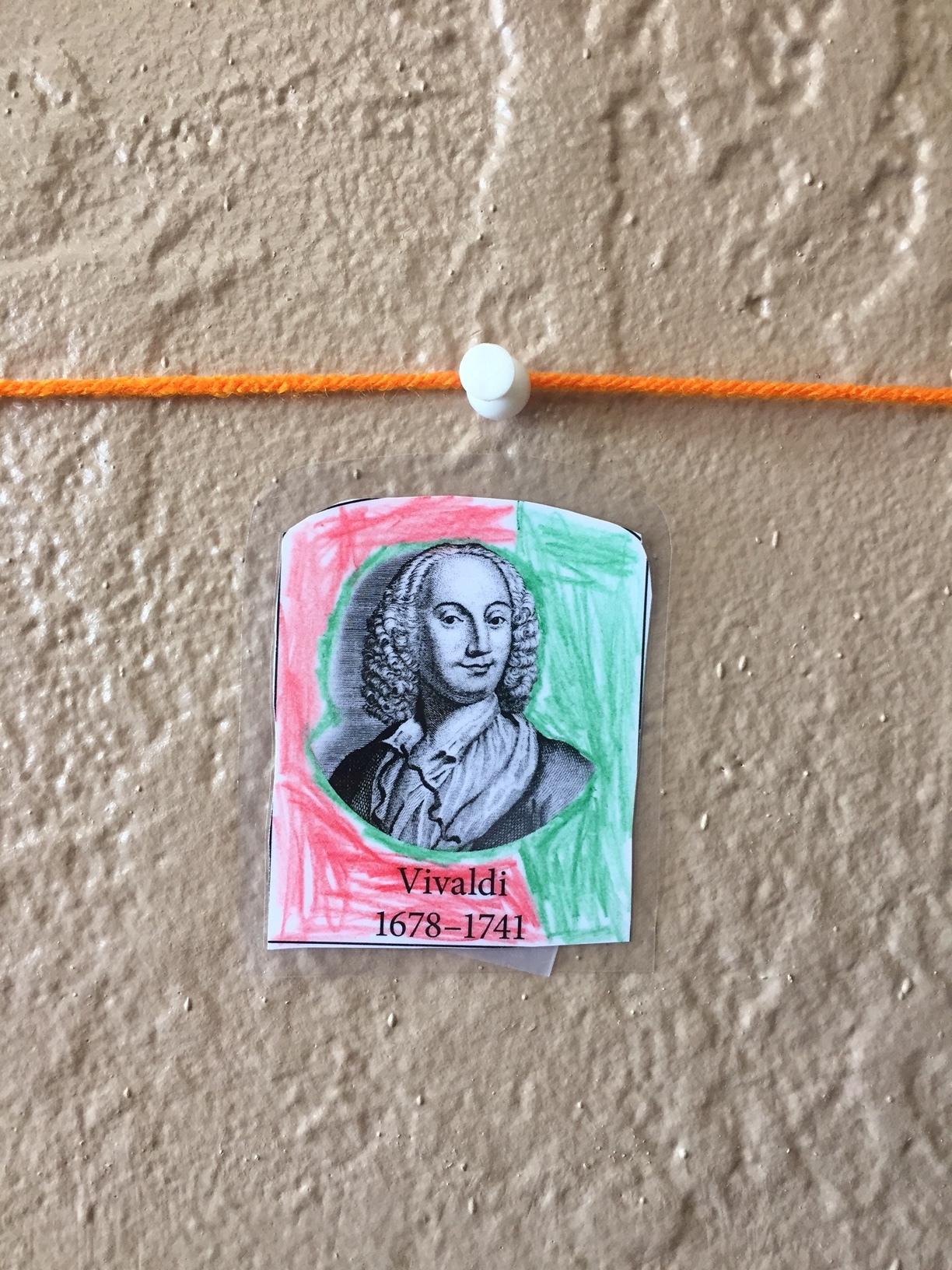 Hello Antonio Vivaldi!!