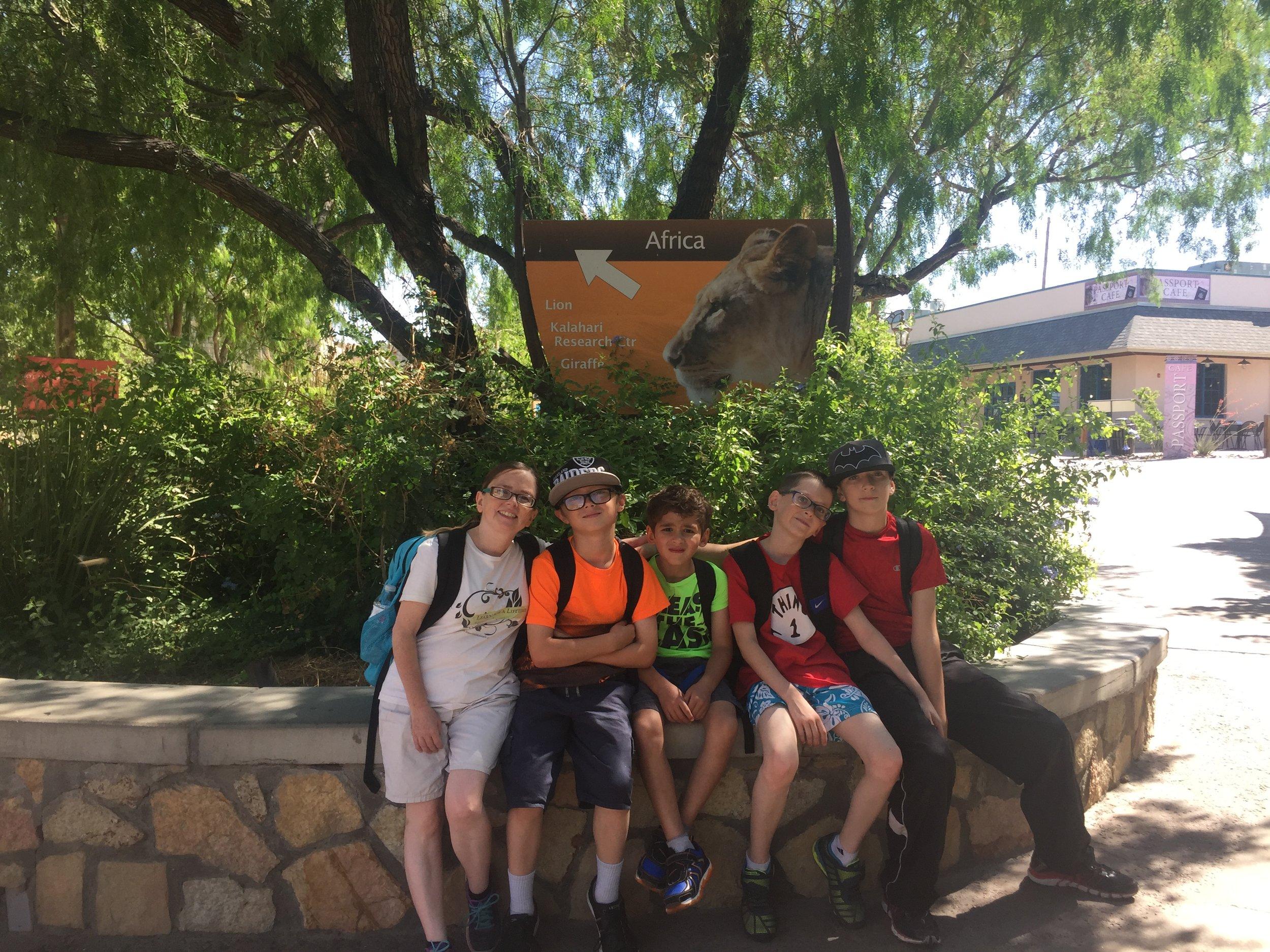 Field Trip to the El Paso Zoo