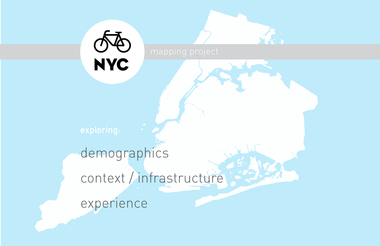 Bicycle NYC data maps