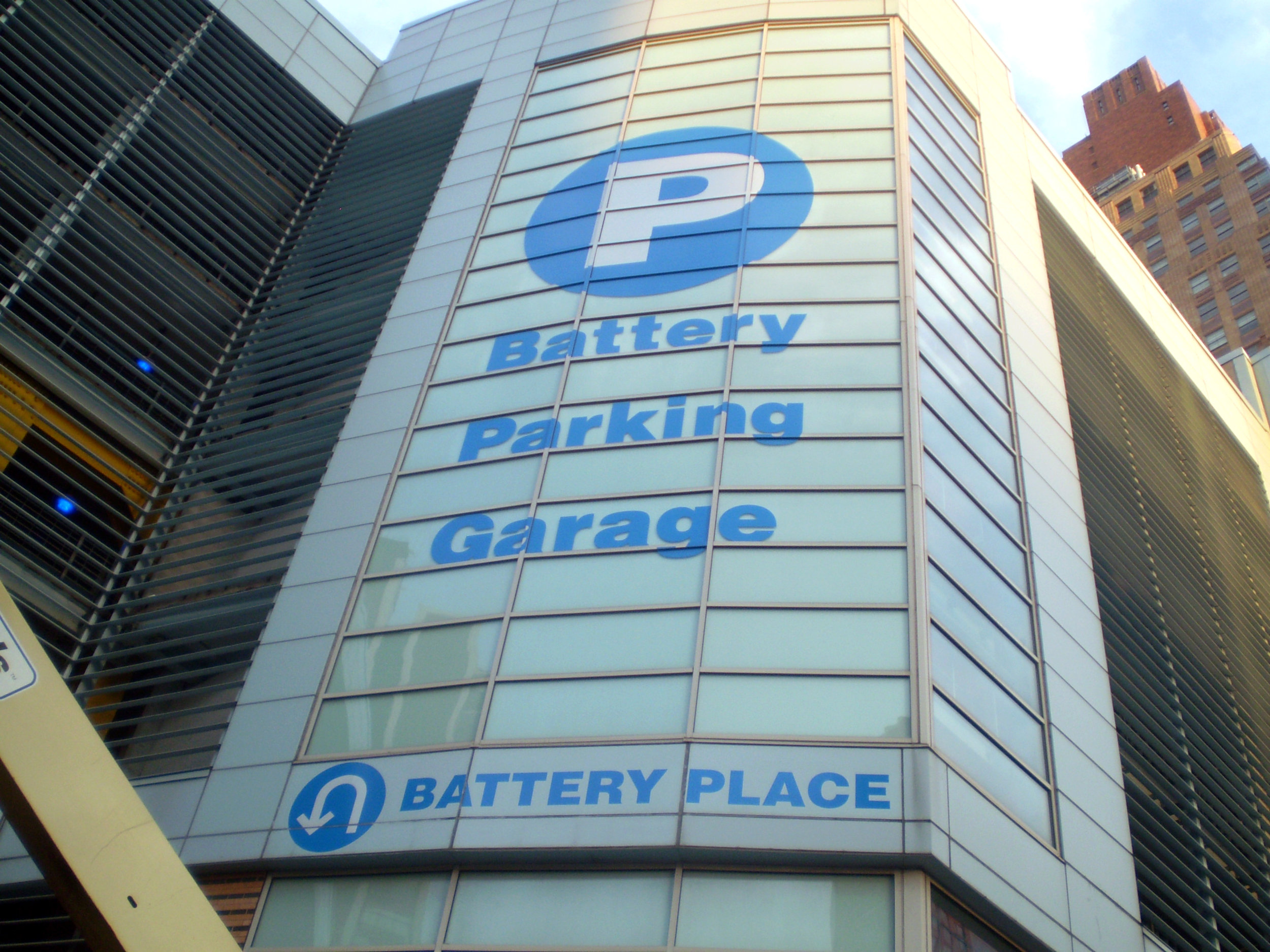 Battery Parking Garage  New York City, NY  Signage & Wayfinding