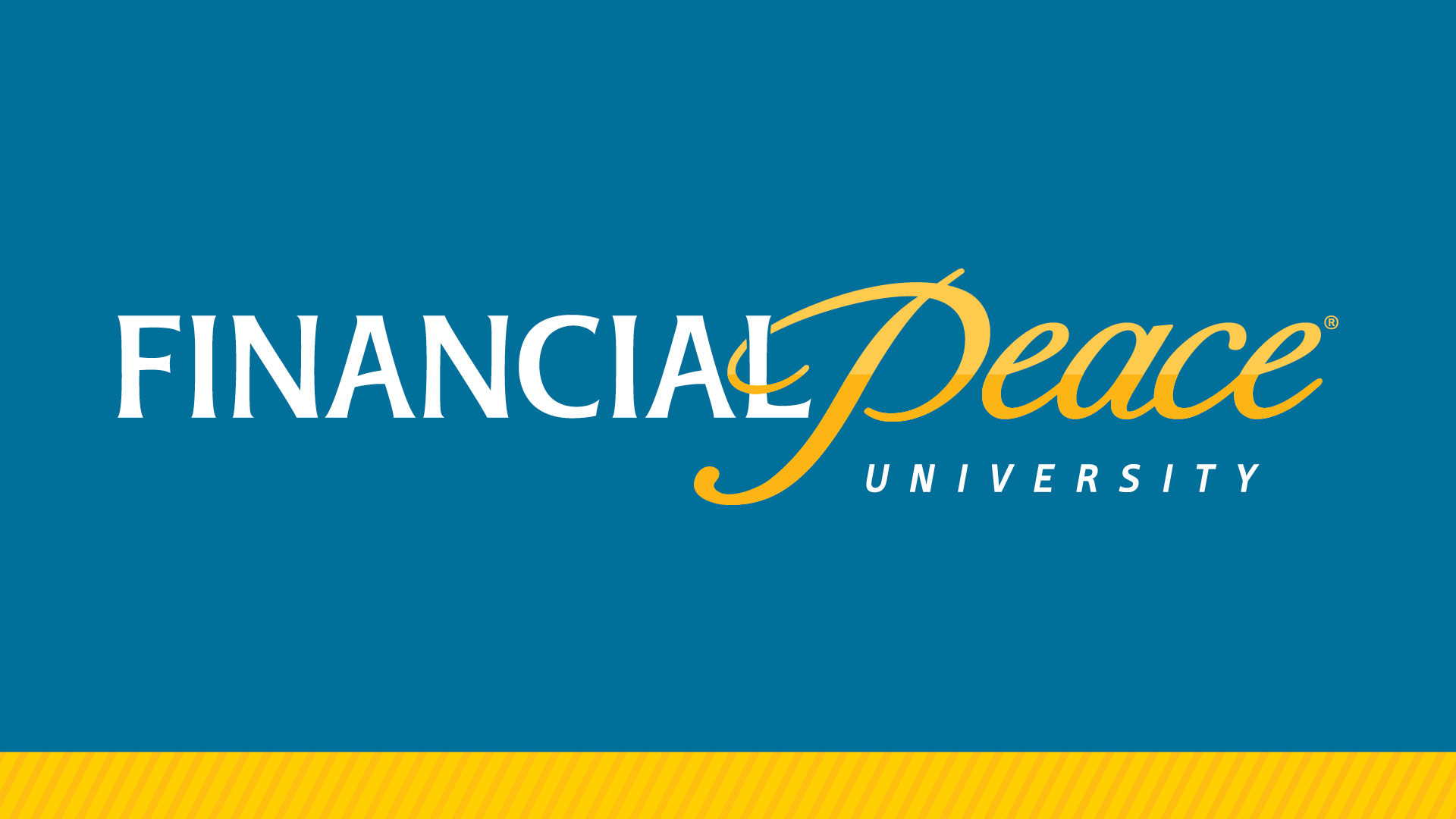 financial peace dave ramsey money class