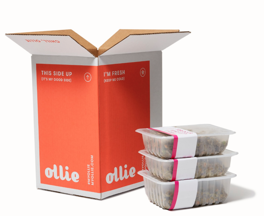 Click Here for 50% Off at MyOllie.com    Ollie customizes recipes based on your dog's unique needs, recommends the perfect portion, and delivers the precise amount of food to your door ready-to-serve (and devour).