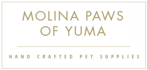 Use Code MPY10gotham for 10% Off!    Handcrafted bandanas, bowties, paracord collars, and custom pet apparel. Molina Paws of Yuma makes beautiful apparel with you and your pet in mind.