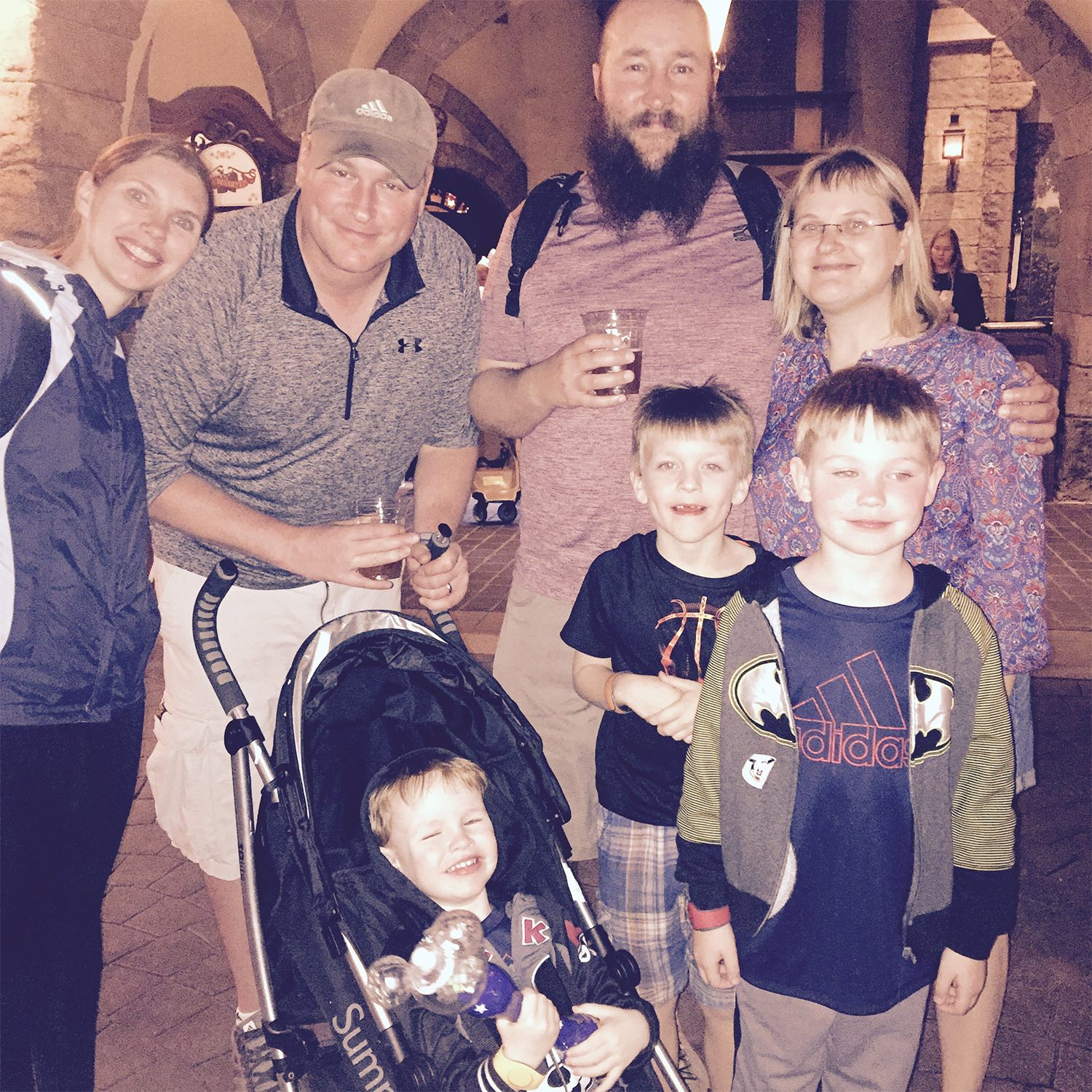 We are grateful to Doug and Rita for taking us with them to Disneyworld. We made the absolute best of it despite our troubles. Maybe someday we can go back and do it a second time without a hospital stay!