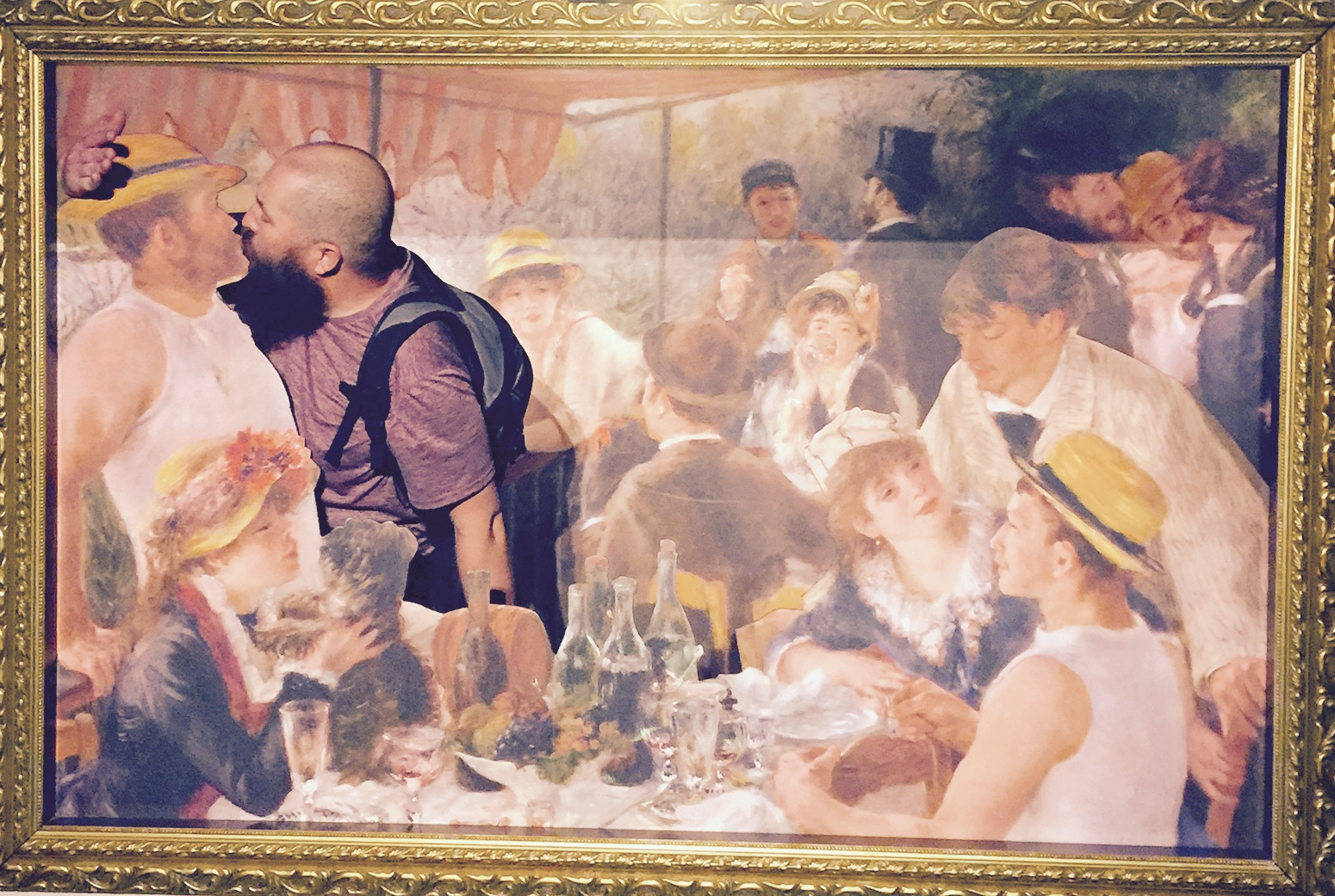Luncheon of the Boating Party  , 1880–1881, Pierre-Auguste Renoir, EPCOT