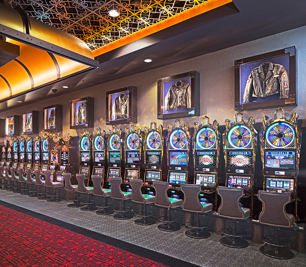 Gasser  Hard Rock Slot Wall