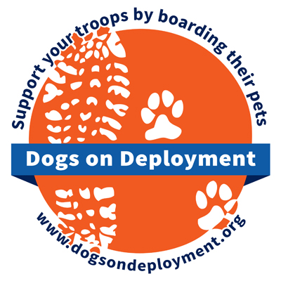Proud Supporter of Dogs On Deployment -