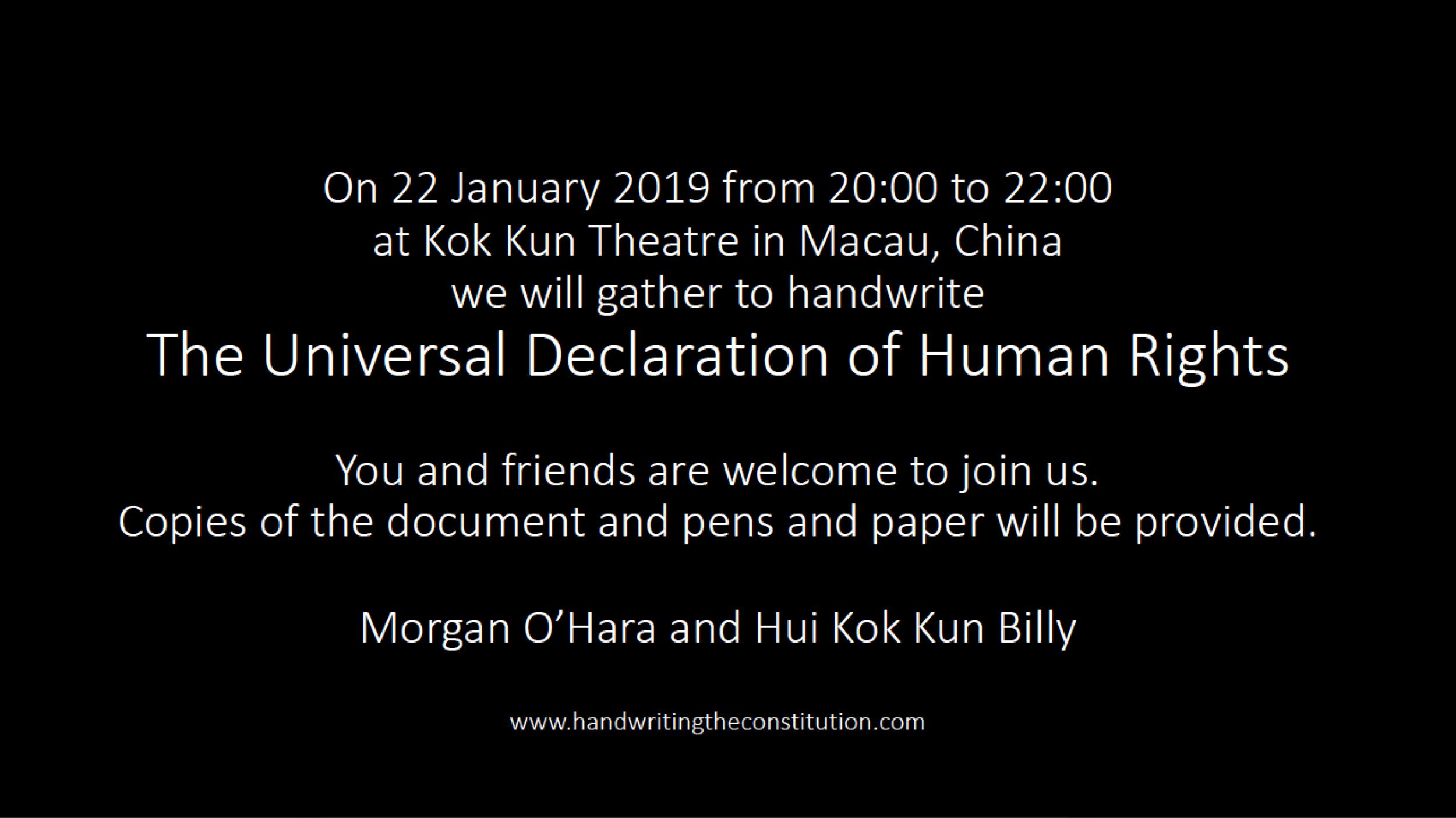 22 January 2019macau, china - session 90morgan o'hara and hui kok kun billy