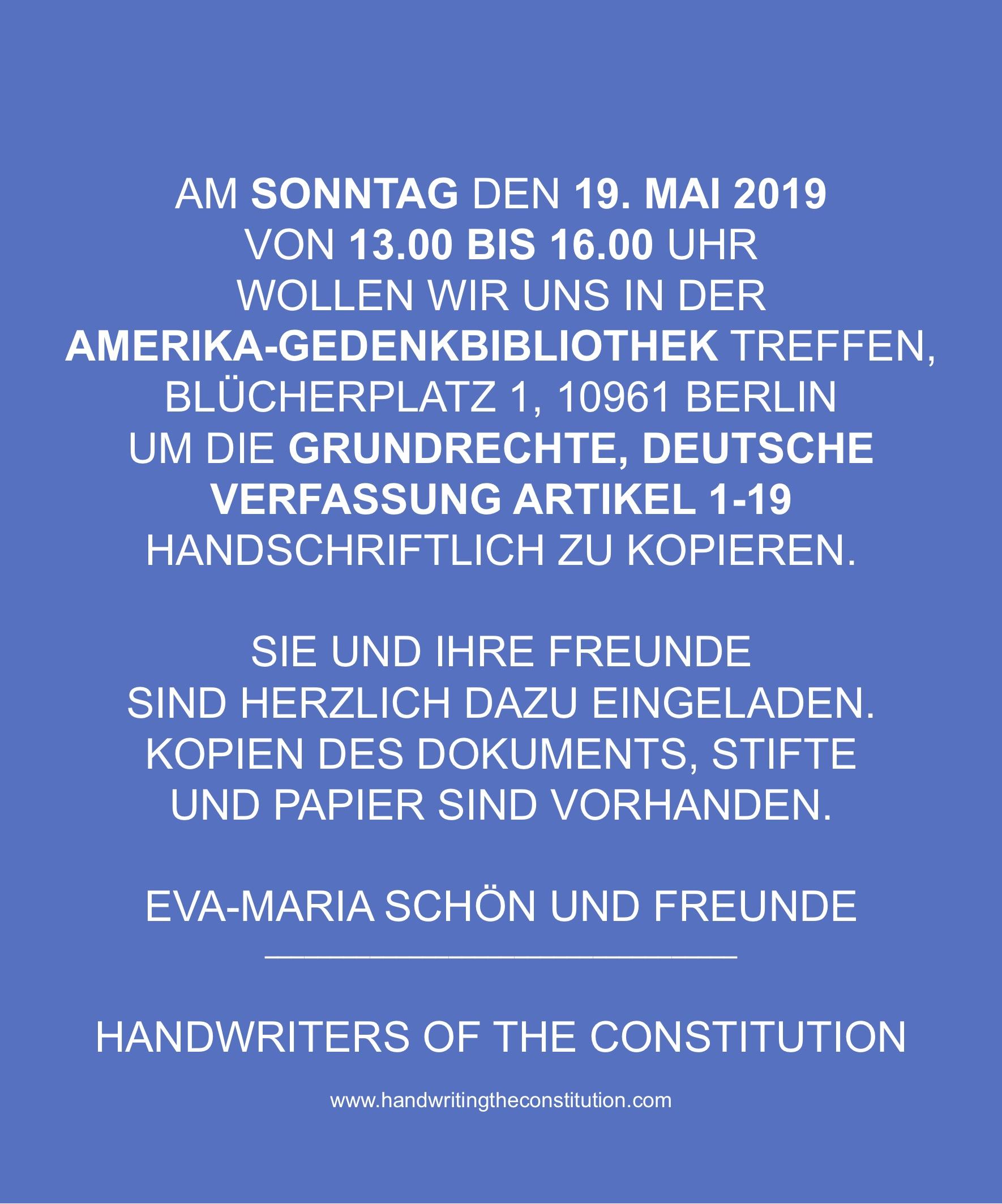 19 MAY 2019berlin, germany - session 102collaborator eva-maria schön