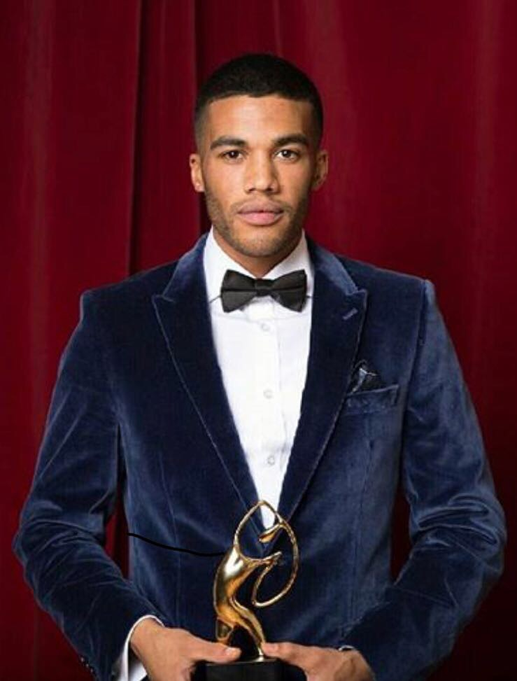 "STYLED THE MODEL KEMAR CUMMINS FOR THE ""BLACK BRITISH ENTERTAINMENT AWARDS"""