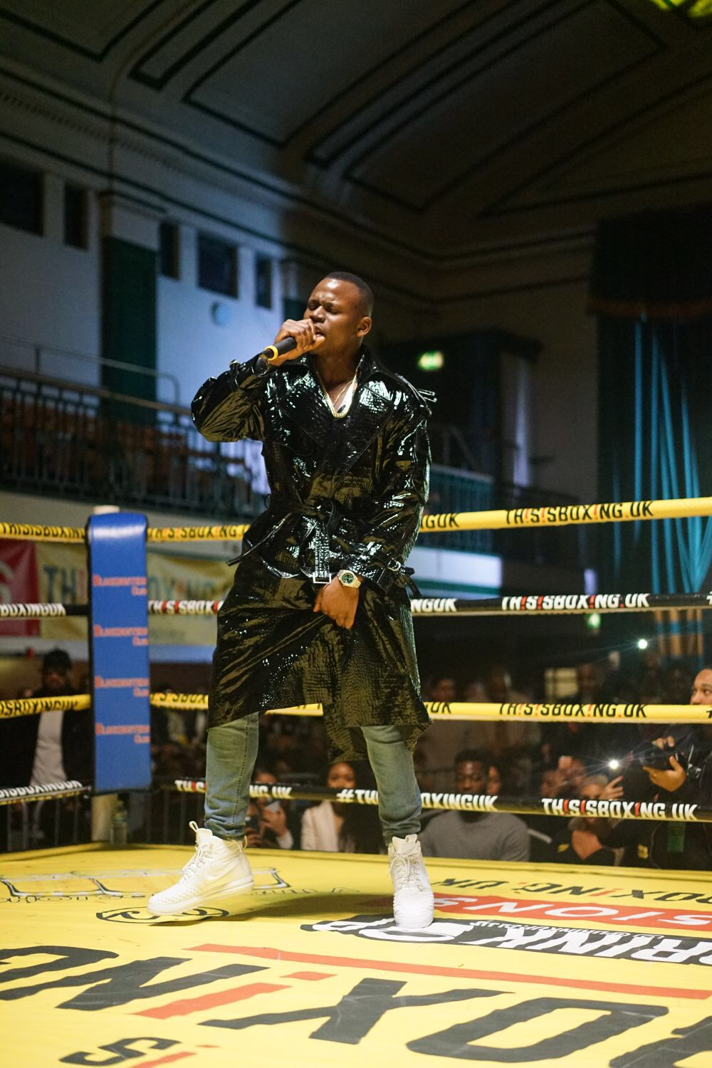 "STYLED FEKKY FOR ""THIS IS BOXING UK"""