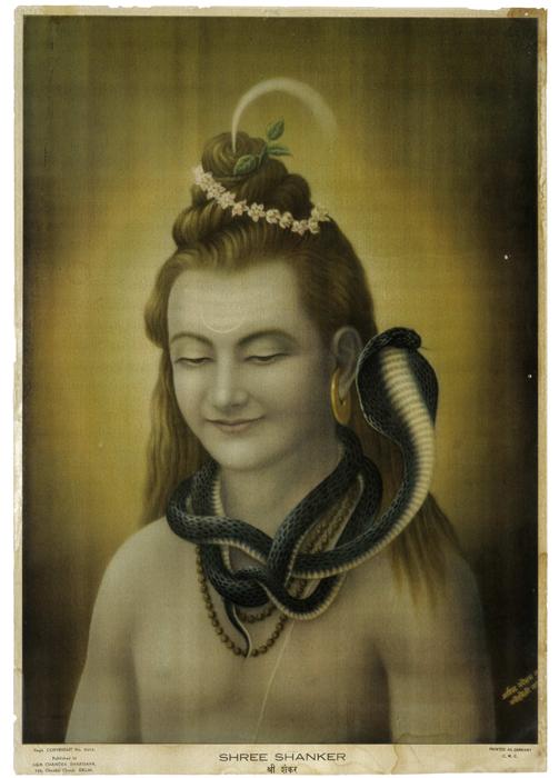 Shree Shankar, offset-lithograph, c. 1935-1940.Hemchander Bhargava, Delhi