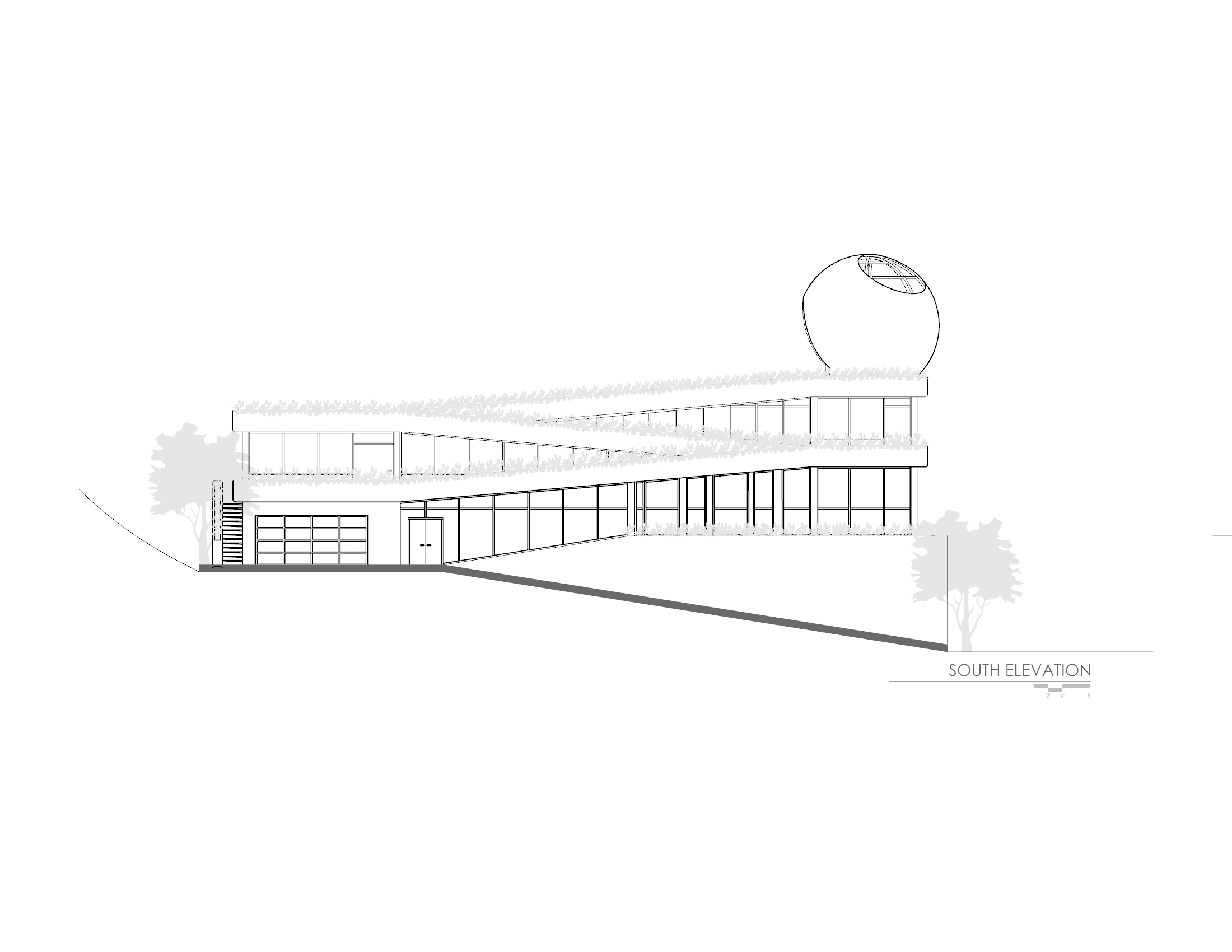Hunky Dori House 3- SOUTH ELEVATION Plan.jpg