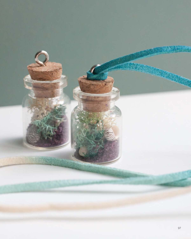 Modern Terrarium Studio - Wearable Landscape Necklace beauty image