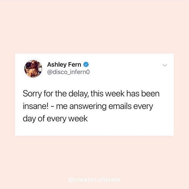 Omg this. So I had planned a fully productive week filled with meetings and all kinds of things for Aspiring Co.. On Tuesday I got food poisoning and have been down for the count since then. Finally feeling better and back to normal but my inbox though 😭 trying to take time to recover without being hard on myself. I want to be able to fully show up in spaces (digitally or face to face) and I've acknowledged that I can't do that if I'm not well. It's another one of those entrepreneurial woes. Anyway, what are you doing this weekend?