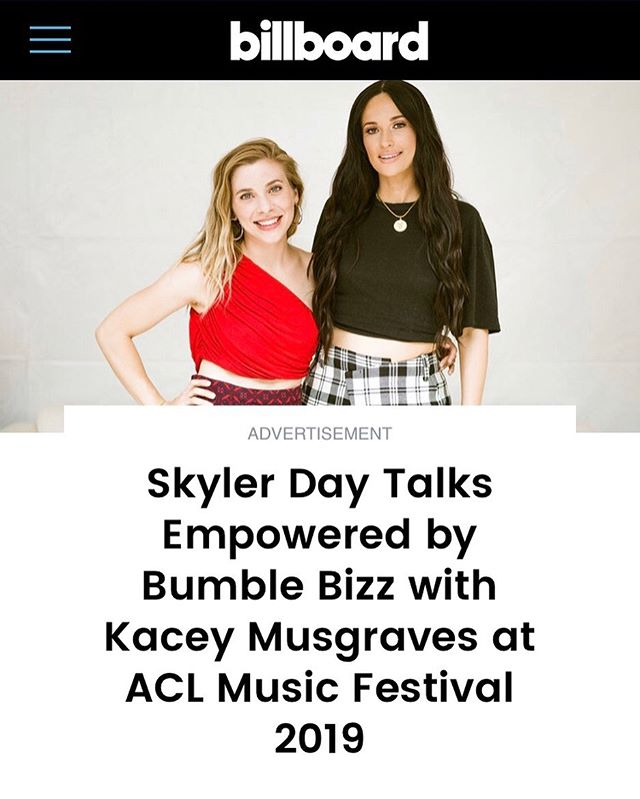 So... I got to talk to @billboard about music and my mentorship with @spaceykacey... HOLY SMOKES. Link in bio! Also, whaaaat issss liiiiife!!! 😆😃😁 #empoweredbybizz