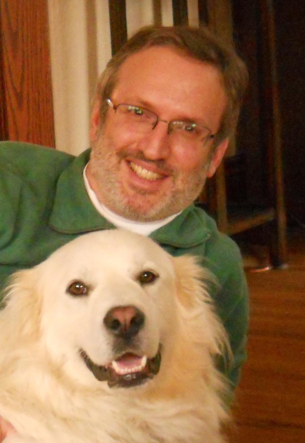 Mark Berkson with Duncan