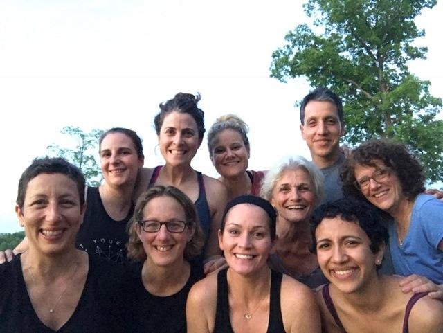 Yoga at the Lake