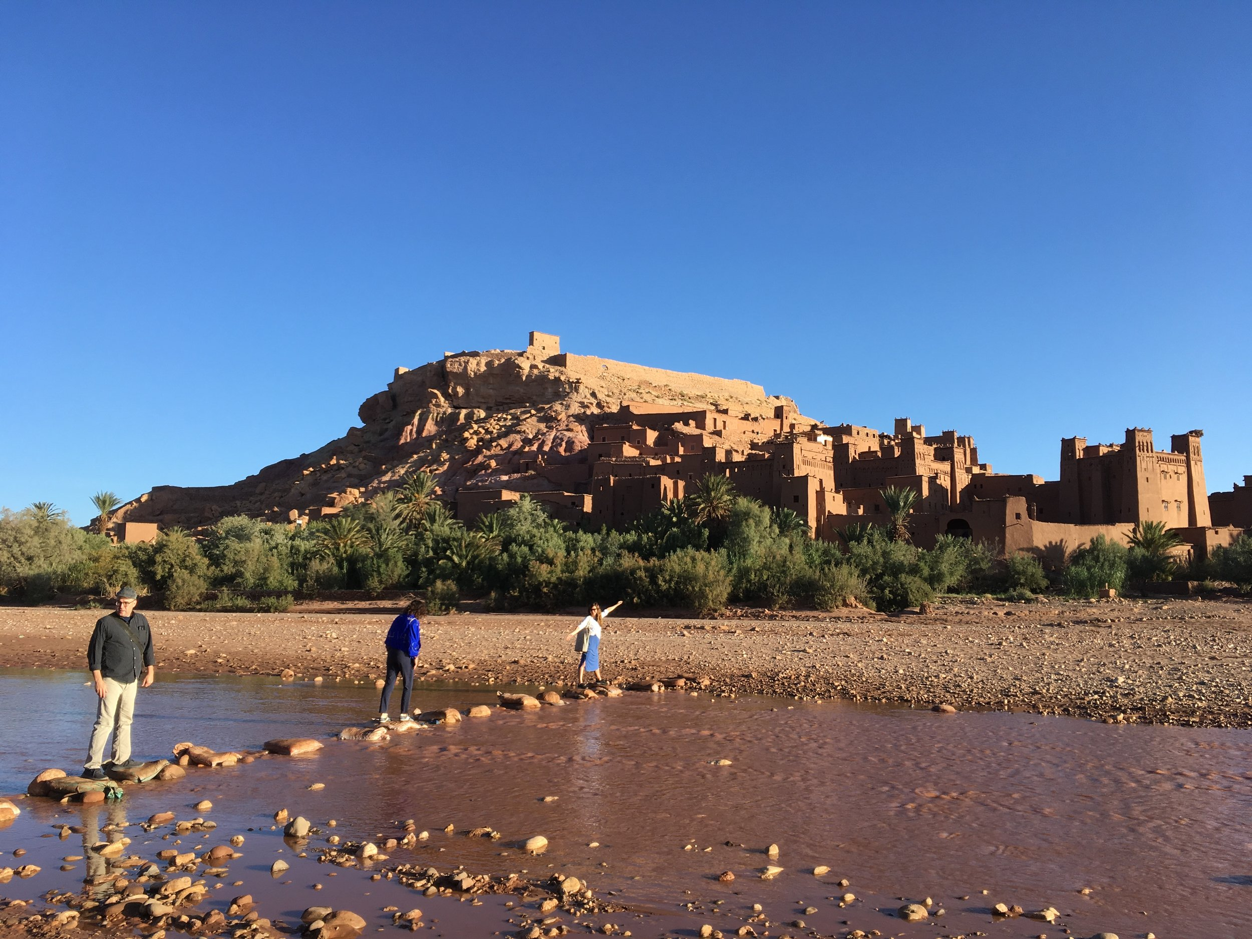 On our way to Ait Ben Haddou