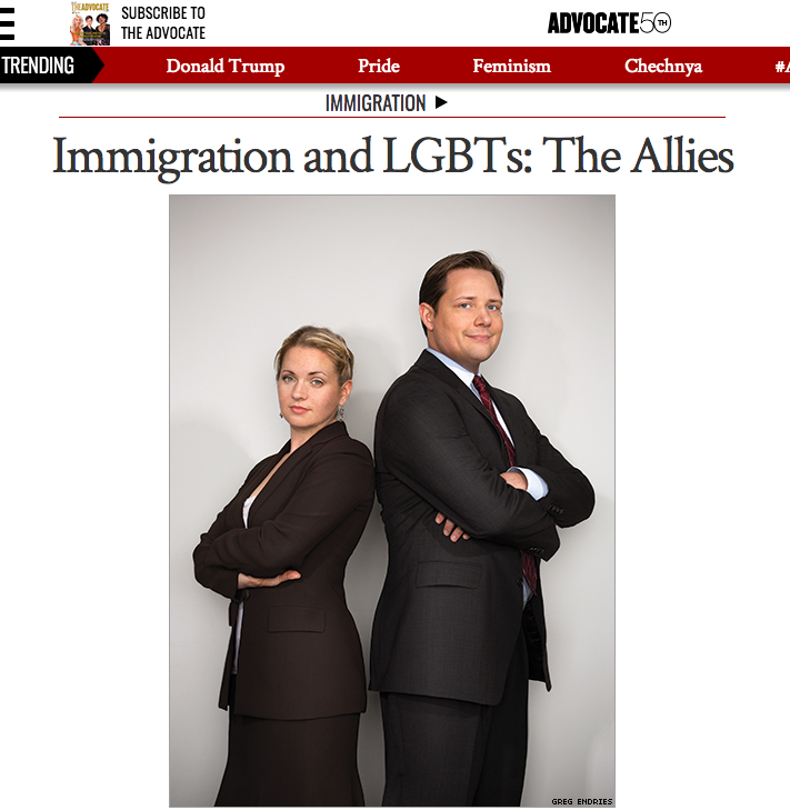 We are Brophy & Lenahan: Lawyers dedicated to serving LGBT individuals and families. - If you'd like to learn more about us, you may want to start by reading an article about us from a former client and the former editor-in-chief of The Advocate, Matthew Breen. But we also describe ourselves below: bad attempts at humor included.        Click to readarticle on advocate.com