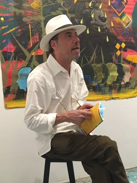 Mark Statman - Among Mark Statman's 10 books, the most recent are two books of poetry, Exile Home (2019) and That Train Again (2015), and the translations Never Made in America: Selected Poems from Martín Barea Mattos (2017). His writing has appeared in numerous journals and16 anthologies. A recipient of awards from the National Endowment for the Arts and the National Writers Project, Statman is Emeritus Professor of Literary Studies from Eugene Lang College, The New School, and lives in San Pedro Ixtlahuaca and Oaxaca de Juárez, Oaxaca, México.Poetry Crawl, Saturday