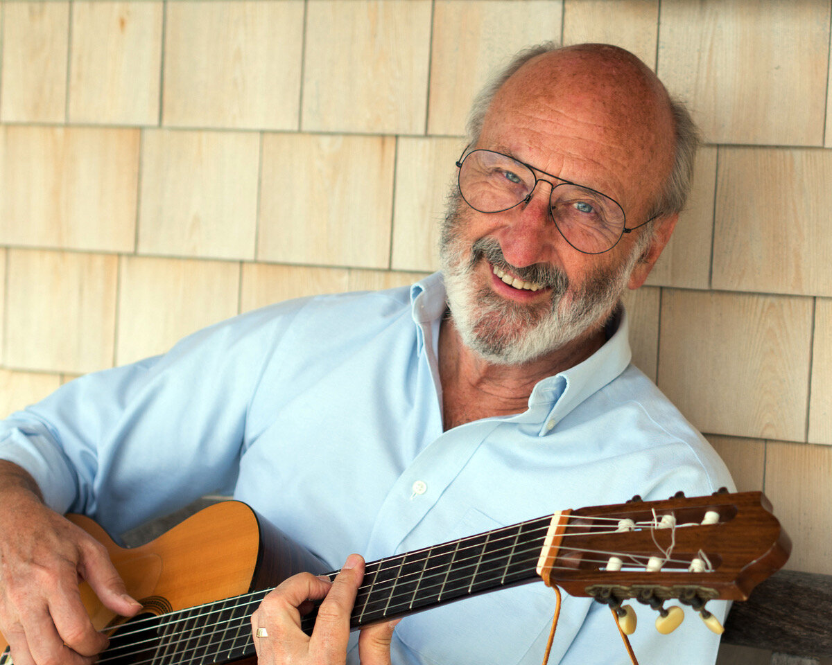 """Noel Paul Stookey - Best known as """"Paul"""" of the multi-platinum-selling group Peter, Paul & Mary—and for writing and performing """"The Wedding Song""""—Noel Paul Stookey has been a singer and songwriter since the 1960s. As an independent musician living in Blue Hill, his newest compositions address major issues from climate change to gun control.Workshop: Songcrafting, Saturday"""